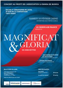Magnificat et Gloria de Rutter