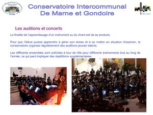 Réunion d'information Musique 2018